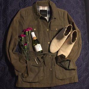 Talbots field coat size small